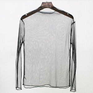 Tops - BACK TO SCHOOL SALE!!! Striped Sheer Top